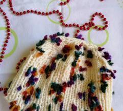 NOVA zimska kapa sa bombicama rucni rad