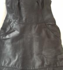 kozna mini haljina