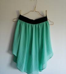 Amisu tirkizna letnja suknja