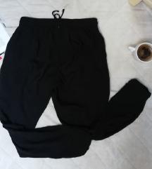 NewYorker letnje baggy crne pantalone S/M