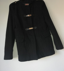 Danas samo 800 Forever 21 crni kaput M/L