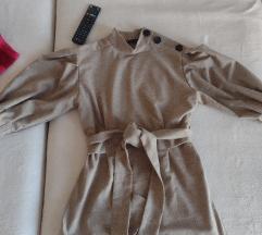 Zara košulja sa puf rukavima vel S/M