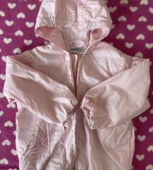 Roze tanja jaknica za prelazni period 92/98
