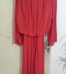 Crvena haljina- VINTAGE, SADA 500
