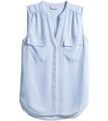 HM golubje plava bluza 40