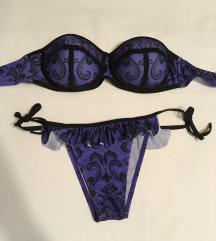 Ljubicasti bikini kupaci NOVO (opis - mere)