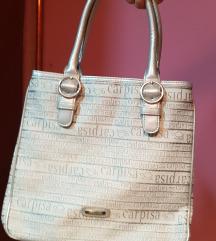Carpisa sivo- srebrna ženska tašna