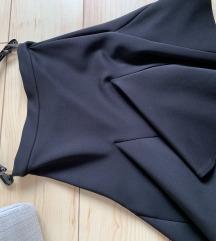 Crna zimska suknja