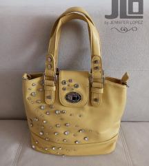 Jennifer Lopez žuta torba
