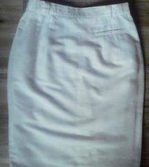 MURA bela,balon suknja, XL