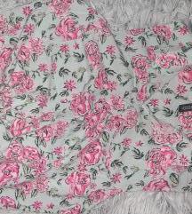 H&M cvetna košulja bez rukava