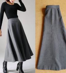 Midi suknja u stilu 50-tih***NOVO