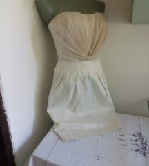 Orsay bez sa krem haljina 34