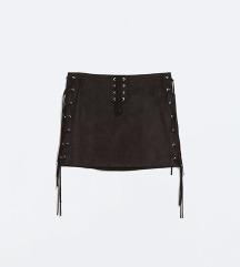 Nova antilop Zara suknja sa resama