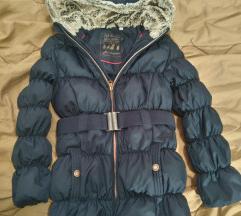 Dečija perjana jakna za devojčice