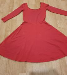 Lagana crvena haljinica
