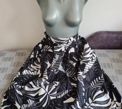 Midi plisirana suknja