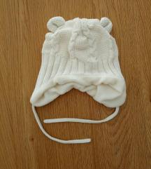 zimska kapa za bebu