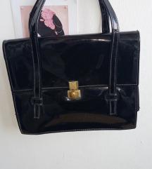 Vintage lakovana torbica