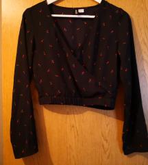H&M kratka bluza - novo