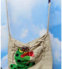 Handmade ZHABA/VILIN KONJIC torba