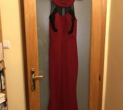 Dugacka crvena haljina SNIZENO