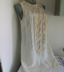 Zara haljina sa resama M