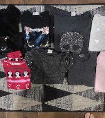 Lot džemperića za devojčice 9-10 god