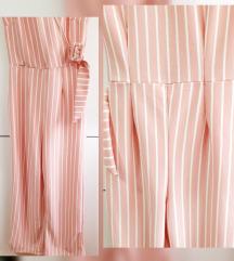 Striped kombinezon