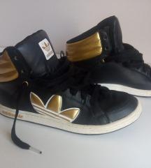 Adidas crno zlatne patike