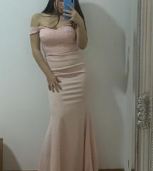 Baby roza duga haljina