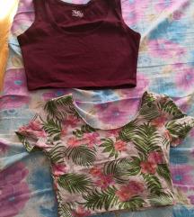 Dve croop majice