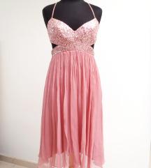 BCBG Max Azria svilena haljina veličina S