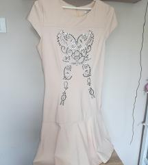 Puder roze haljinica