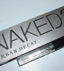 NAKED 2 urban decay i HIGH SHINE lipgloss