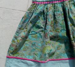 Boho vintage indi suknja S M