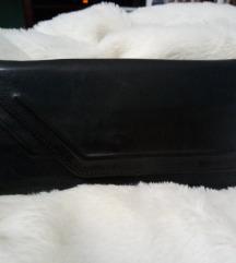 Crni kožni novčanik