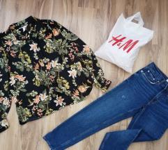 H&M cvetna kosulja NOVA