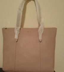 Furla kožna torba ORIGINAL puder roze veći model