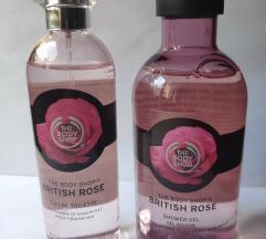 The Body Shop British Rose EDT + SG