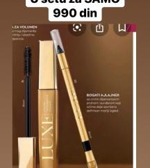 Maskara i ajlajner olovka Luxe