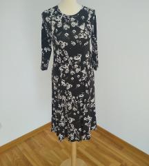 Sivo-bela haljina S-XL