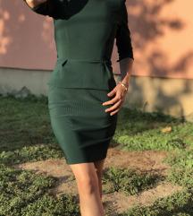 smaragdno zelena haljina kao nova