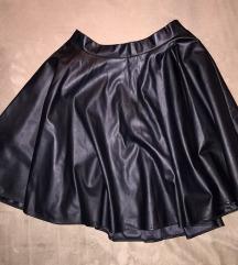 BLONDY kožna suknja