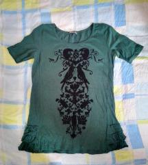 Stradivarius zelena majica