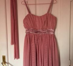 Roze haljina til