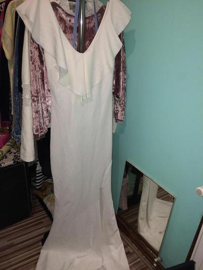 Duga haljina sa slicem AKCIJA