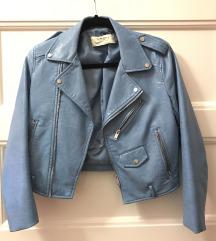 Bebi plava ZARA kozna jakna