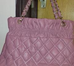 Roze torba + poklon