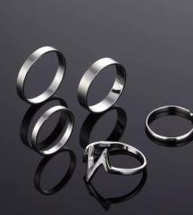 💙Set od 5 prstena